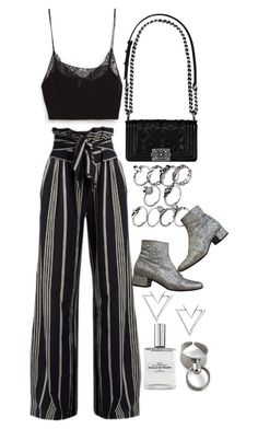 """""""Untitled #10098"""" by nikka-phillips ❤ liked on Polyvore featuring Chanel, Belgique, Yves Saint Laurent, ace & jig and Nadri"""