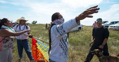 A PIPELINE FIGHT AND AMERICA'S DARK PAST  This weekend, hundreds of Native Americans gathered to protest the Dakota Access Pipeline, which they say will contaminate the water at a nearby Sioux reservation.