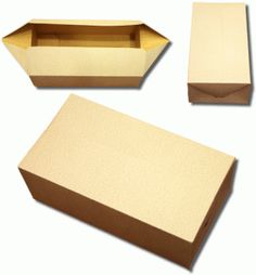 3d fold and tuck box - Perfect for home baked goods and leftovers!