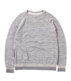 nanamica / Sweat Crew Neck Shirt