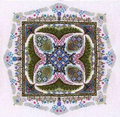 Summer Knot Garden Cross Stitch Pattern by Chatelaine Designs, Martina Rosenberg http://europeanxs.com/cgi-bin/chat_detail.pl?CDSKG-