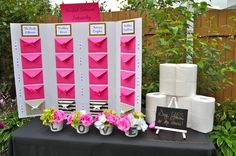 Kate Spade bridal shower - Bridal shower jeopardy and say yes to the dress game