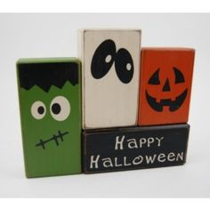 Blocks Upon A Shelf | Decorative Wooden Blocks | Blocks Upon a Shelf
