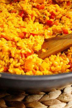 Paella z warzywami - oryginalny, hiszpański przepis! (6 składników) - Wilkuchnia