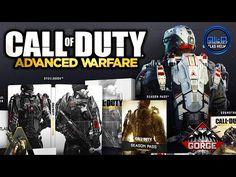 Call of Duty: ADVANCED WARFARE - Special Editions! (DLC Maps, Guns & More) COD 2014