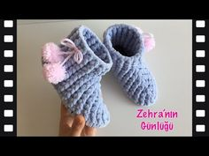 Filet Crochet, Diy Crochet, Crochet Shoes, Baby Knitting Patterns, Baby Kids, Baby Shoes, Slippers, Diy Projects, Youtube