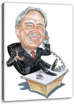 Eine Karikatur von Deinem Foto. In dem Fall die Geschenkidee für alle die von Beruf Manager sind. Es sind aber auch viele andere Berufe verfügbar.