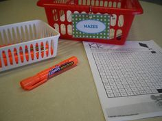 Letter Mazes and other literacy station ideas