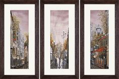 СР1077 After the rain. Cross stitch kits with canvas with printed