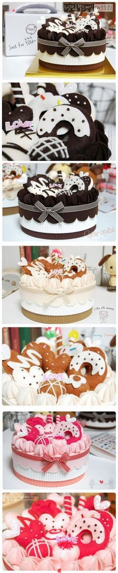 Felt Cakes Inspiration * No instructions available.