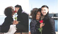 Black women Asian men love : Photo
