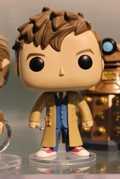 Doctor Who Tenth Doctor Pop! figure by Funko, 2015 release