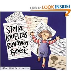 Stella Louella's Runaway Book - As she tries to find the book that she must return to the library that day, Stella gathers a growing group of people who have all enjoyed reading the book.