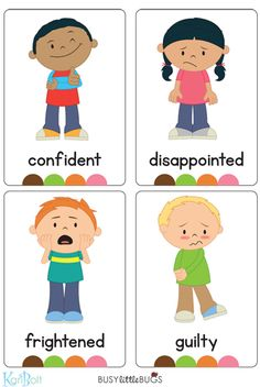 Emotions Full Body Flash Cards – Busy Little Bugs Emotions Preschool, Emotions Activities, Preschool Learning Activities, Kids Learning, Teaching Emotions, Emotions Cards, Feelings And Emotions, English Primary School, Teaching English