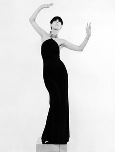Peggy Moffitt (model and muse) + William Claxton (husband and photographer) + Rudi Gernreich (designer)