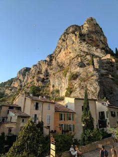 Moustier Sainte Marie   Provence Village  Gorges du Verdon canyon, France