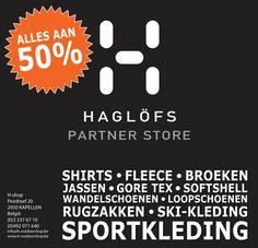 HAGLOFS OUTLET -50% -- Kapellen