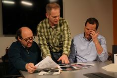 Kurt directs a scene.