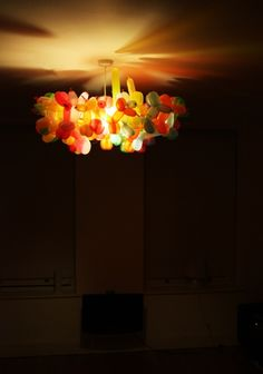Balloon Animal Chandelier. Yes.