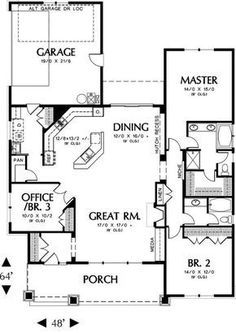 I like this one! ~ Craftsman House Plan #324511 Blueprints by Westhome Planners