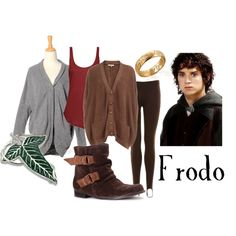 "Lord of the Rings/ The Hobbit-  ""Frodo for women"" by companionclothes on Polyvore"