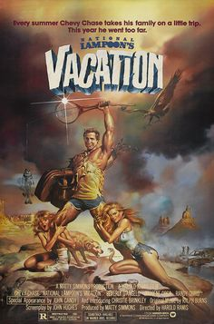 National Lampoon's Vacation (1983) starring Chevy Chase, Beverly D'Angelo, Imogene Coca & Randy Quaid