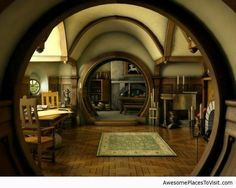 hobbit hole home.YES !