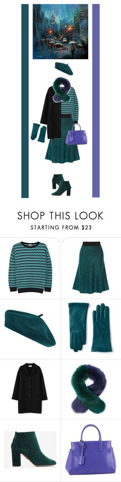 """""""72"""" by rara-nataliya ❤ liked on Polyvore featuring M Missoni, Opening Ceremony, Accessorize, Lands' End, Charlotte Simone, Aquazzura and Louis Vuitton"""