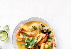 Garnelen-Malanzani-Curry mit Reis