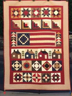 Home of the free quilt kit