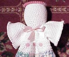 Angel Towel Holder CROCHET PATTERN