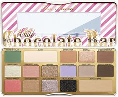 Too Faced White Chocolate Bar Palette for Holiday 2017