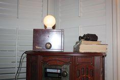 Vintage TV Tuner Lamp by VintageIlluminations on Etsy, $80.00
