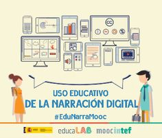 INTEF161 Uso Educativo de la Narración Digital (2ª Edición) Imagen de portada