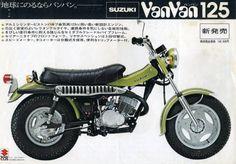 Vintage SUZUKI VanVan125