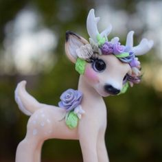 Harlow Whisper Fillies Original Deer fawn Sculpture Handmade art doll | Dolls & Bears, Dolls, Art Dolls-OOAK | eBay!