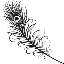 Image result for peacock feather tattoo designs black and white