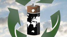 Le recyclage des piles