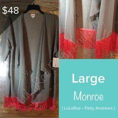 LuLaRoe Monroe womens Fashion swimsuit coverup