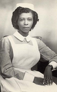 19. Young West Indian nurse, Birmingham England: photographer Ernest Dyche