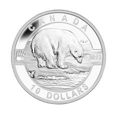 Fourth in the oz O Canada silver coin series! Canadian Coins, Canadian History, O Canada, Mint Coins, Silver Coins, Wooden Display Cases, Valuable Coins, Coin Art, Antique Coins