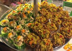 Spicy Chicken Salad Cups and Pot of Gold