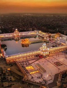 Ariel view of Golden temple Guru Granth Sahib Quotes, Sri Guru Granth Sahib, Sikh Quotes, Gurbani Quotes, Holy Quotes, Punjabi Quotes, Guru Nanak Wallpaper, Guru Nanak Ji, Golden Temple Amritsar