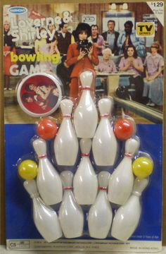 Laverne and Shirley Bowling Game by Harmony, 1977