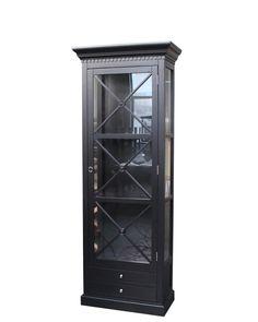 Bordeaux Cross Cabinet 80 cm (Sort)  #classicliving  Se mer på www.classicliving.no