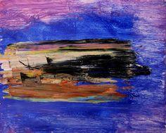 """La condición de naúfrago, de frágil,  no se pierde nunca  Eduardo Bessa Rodrigues; Oil, 2011, Painting """"untitled"""""""