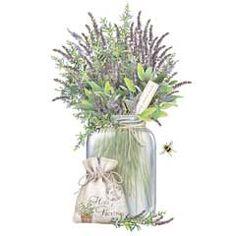 Herb Jars-Provence