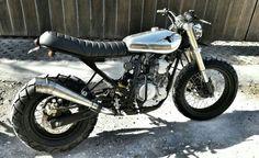 Kurt Tracker, Yamaha Scorpio by Verve Moto, Bali
