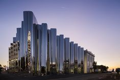 Completed in 2015 in New Plymouth, New Zealand. Images by Patrick Reynolds. The Len Lye Centre is New Zealand's only single artist museum and its design is deeply influenced by the life, ideas, writings and work of Len Lye Art Et Architecture, World Architecture Festival, Architecture Magazines, New Zealand Architecture, Futuristic Architecture, Contemporary Architecture, New Plymouth New Zealand, Wallpaper Magazine, Museum Of Contemporary Art
