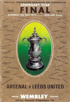FA Cup Final - 1972. Leeds Inited 1 Arsenal 0